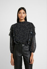 We are Kindred - AMALFI BLOUSE - Bluzka - noir - 0
