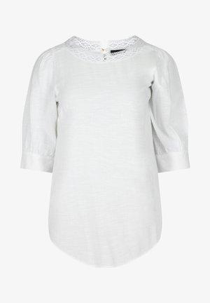Tunic - bright white