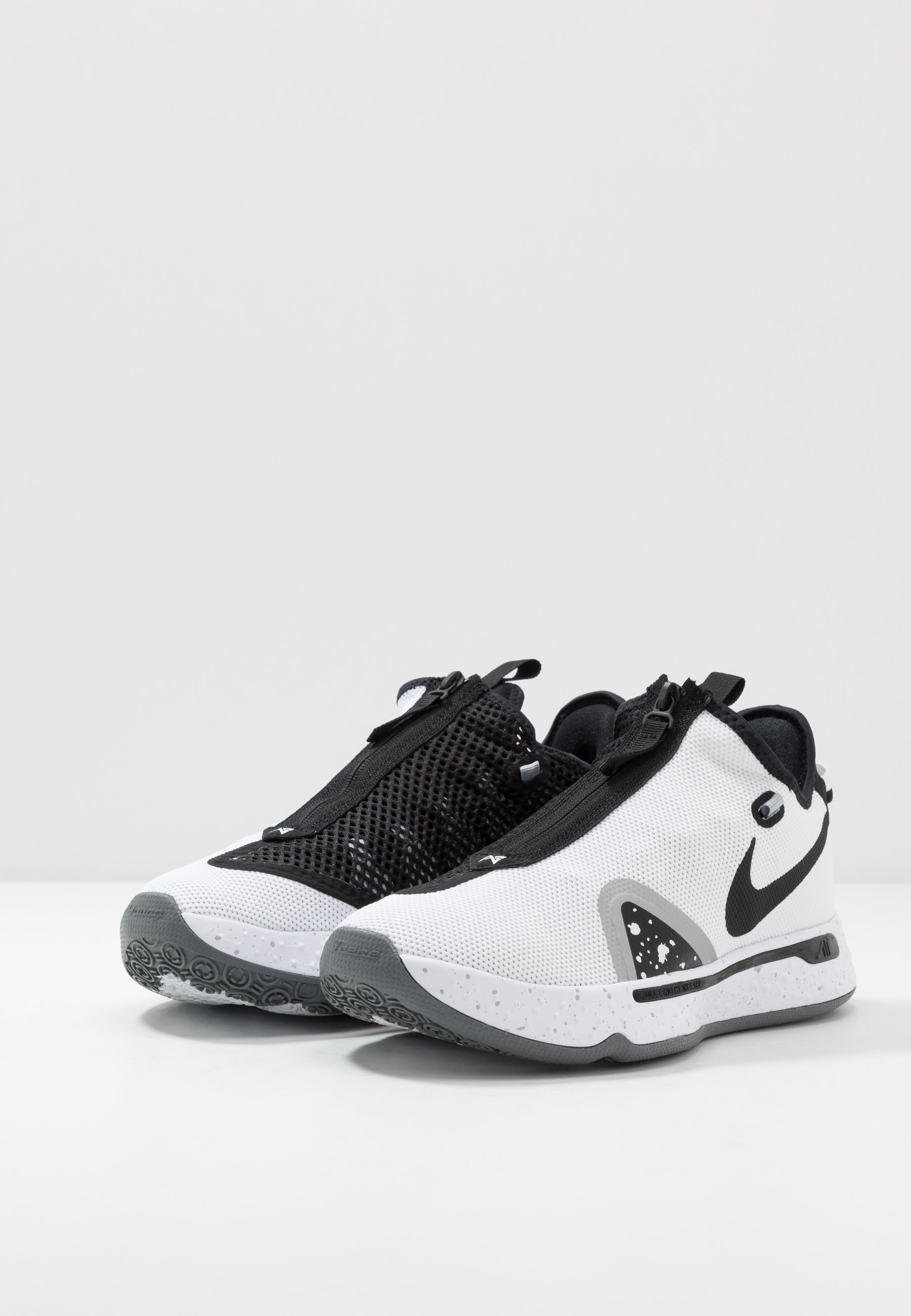 Nike Performance PG 4 - Basketballschuh - white/black/pure platinum/weiß - Herrenschuhe Lgohn