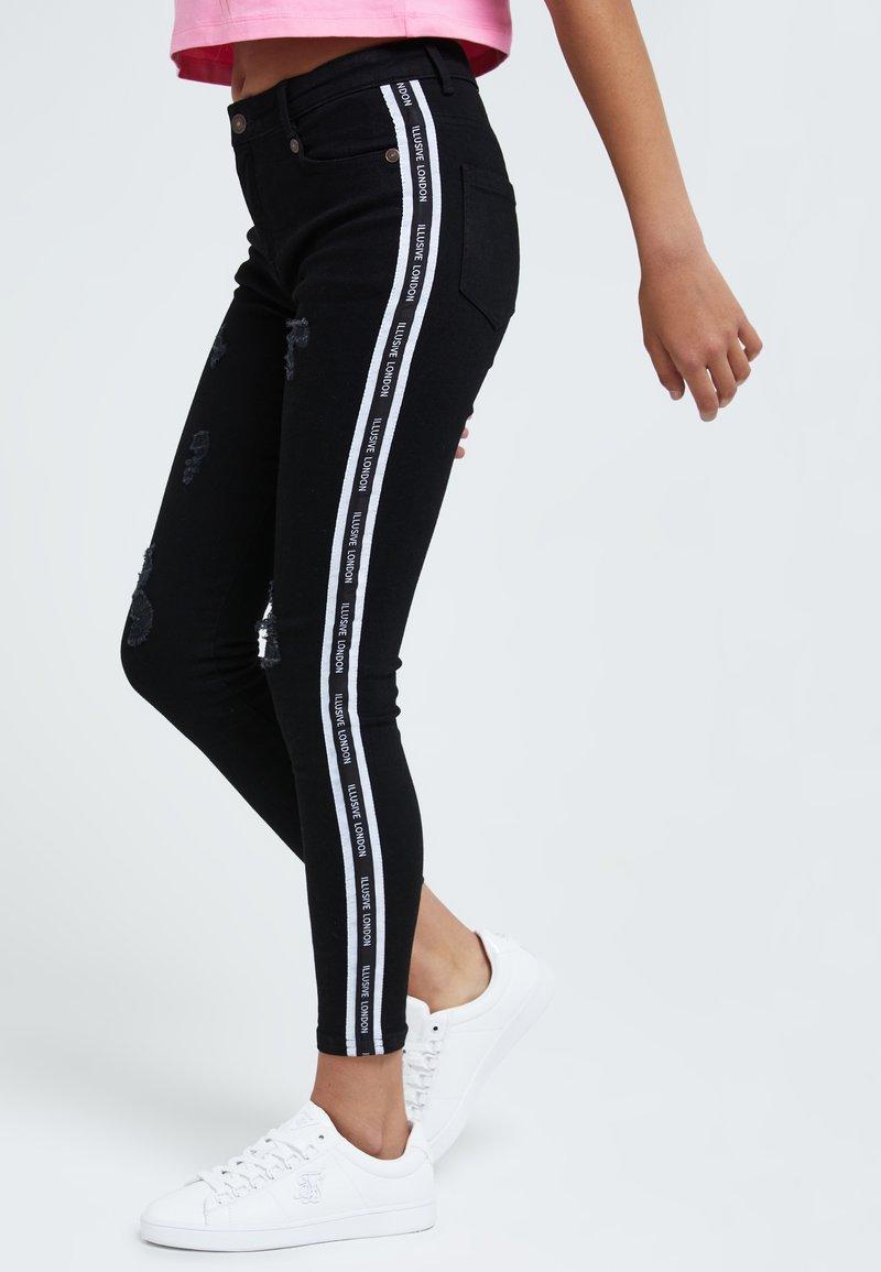 Illusive London Juniors - Slim fit jeans - black