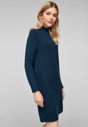 Jumper dress - petrol melange