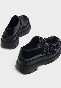 Bershka - Ankle boots - black - 5