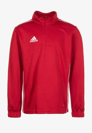 CORE 18 TRAINING TOP - Sports shirt - red/white