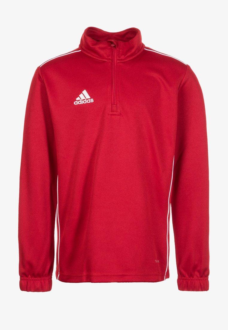 adidas Performance - CORE 18 SWEATSHIRT - Sports shirt - red/white