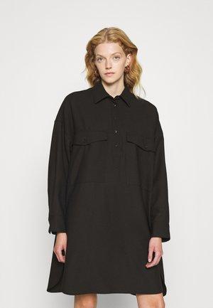 AMBER - Shirt dress - after dark