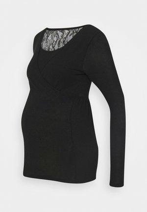 MLARTUR TESS - Topper langermet - black/solid