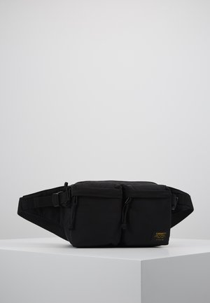 MILITARY HIP BAG  - Ledvinka - black