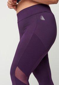 Zizzi - Leggings - Trousers - purple - 3