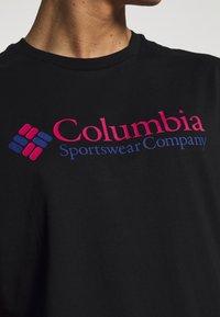Columbia - BASIC LOGO SHORT SLEEVE - T-shirt imprimé - black icon - 4