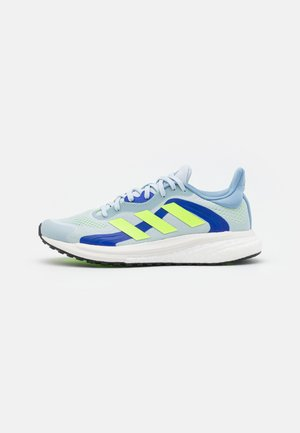 SOLAR GLIDE 4 ST  - Stabilty running shoes - halo blue/signal green/sonic ink
