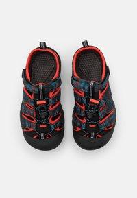 Keen - NEWPORT H2 UNISEX - Walking sandals - black/orange - 3