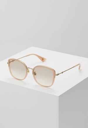 Sunglasses - havana/gold/pink