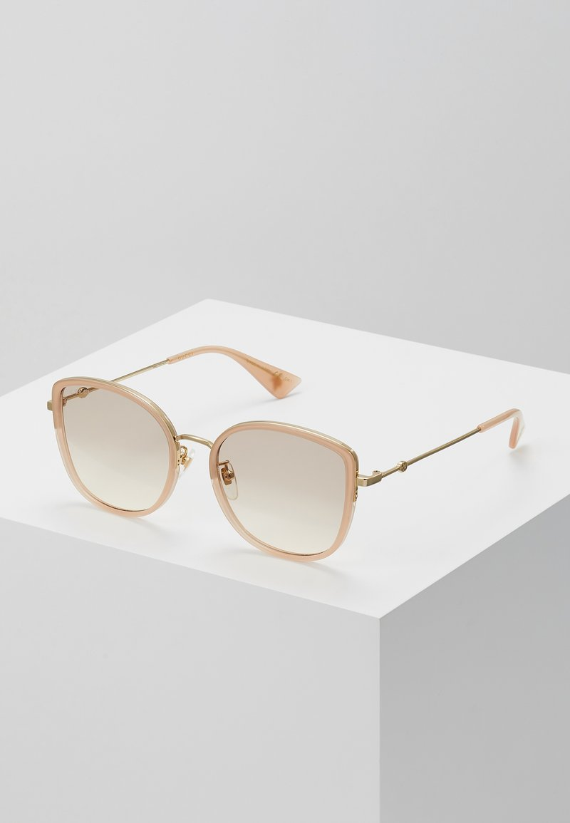 Gucci - Solglasögon - havana/gold/pink