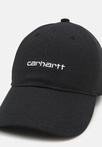 Carhartt WIP - SCRIPT UNISEX - Caps - black/white - 3