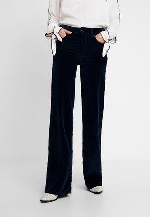 PALAZZO - Trousers - marino