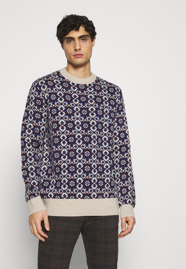 FAIRISLE CREW - Pullover - ecru