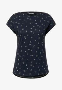 Cecil - MIT MINIMAL PRINT - Print T-shirt - blau - 3