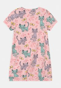 Lindex - LONG CAT  - Print T-shirt - light dusty pink - 1