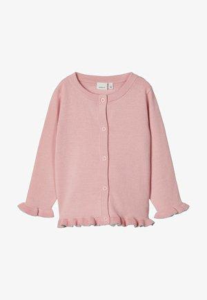 Cardigan - coral blush