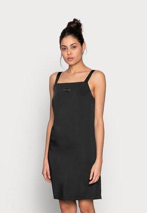 WIDE STRAPS DRESS - Cocktail dress / Party dress - black