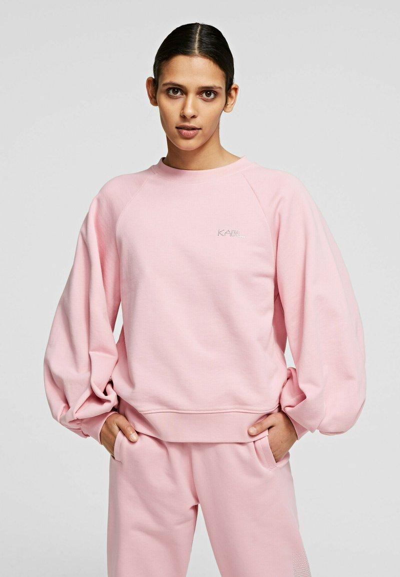 KARL LAGERFELD - Sweatshirt - pink