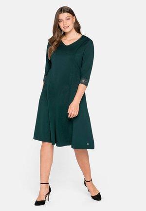 Vestido informal - tiefgrün