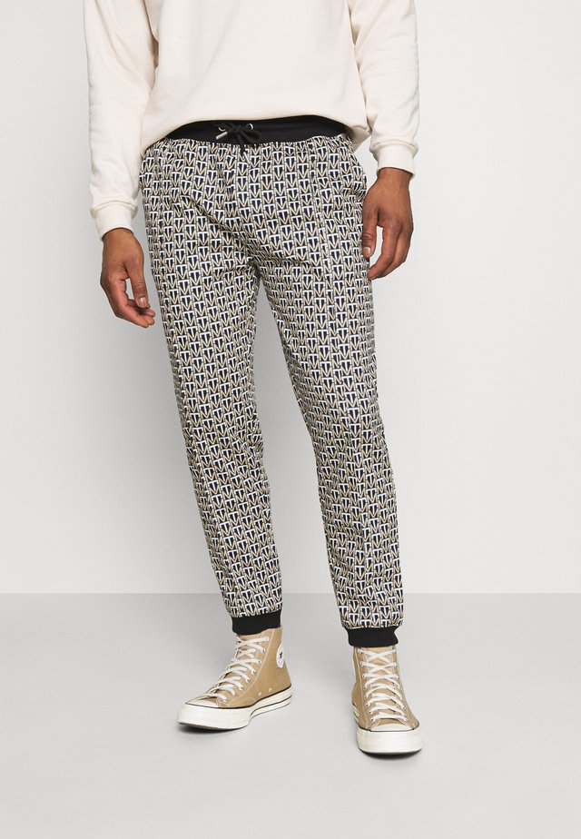 MONO JOGGER - Pantaloni - brown