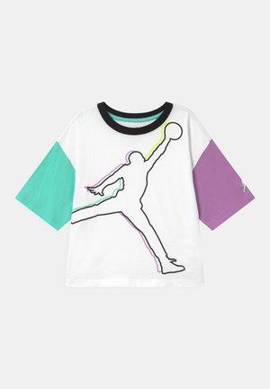 GIRLS  - Print T-shirt - white
