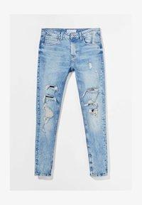 Bershka - Jeans Skinny Fit - blue denim - 3