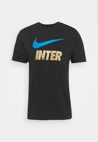 Nike Performance - INTER MAILAND CLUB TEE - Club wear - black - 4