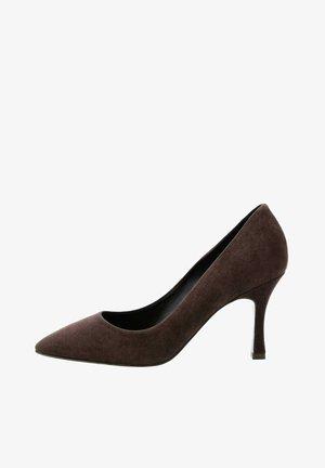 SULMONA - High heels - brązowy