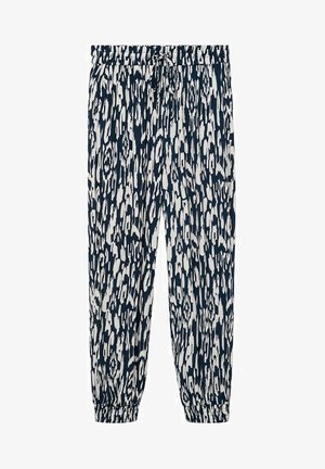KIM - Spodnie materiałowe - bleu marine foncé