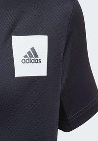 adidas Performance - AEROREADY T-SHIRT - Triko spotiskem - blue - 6