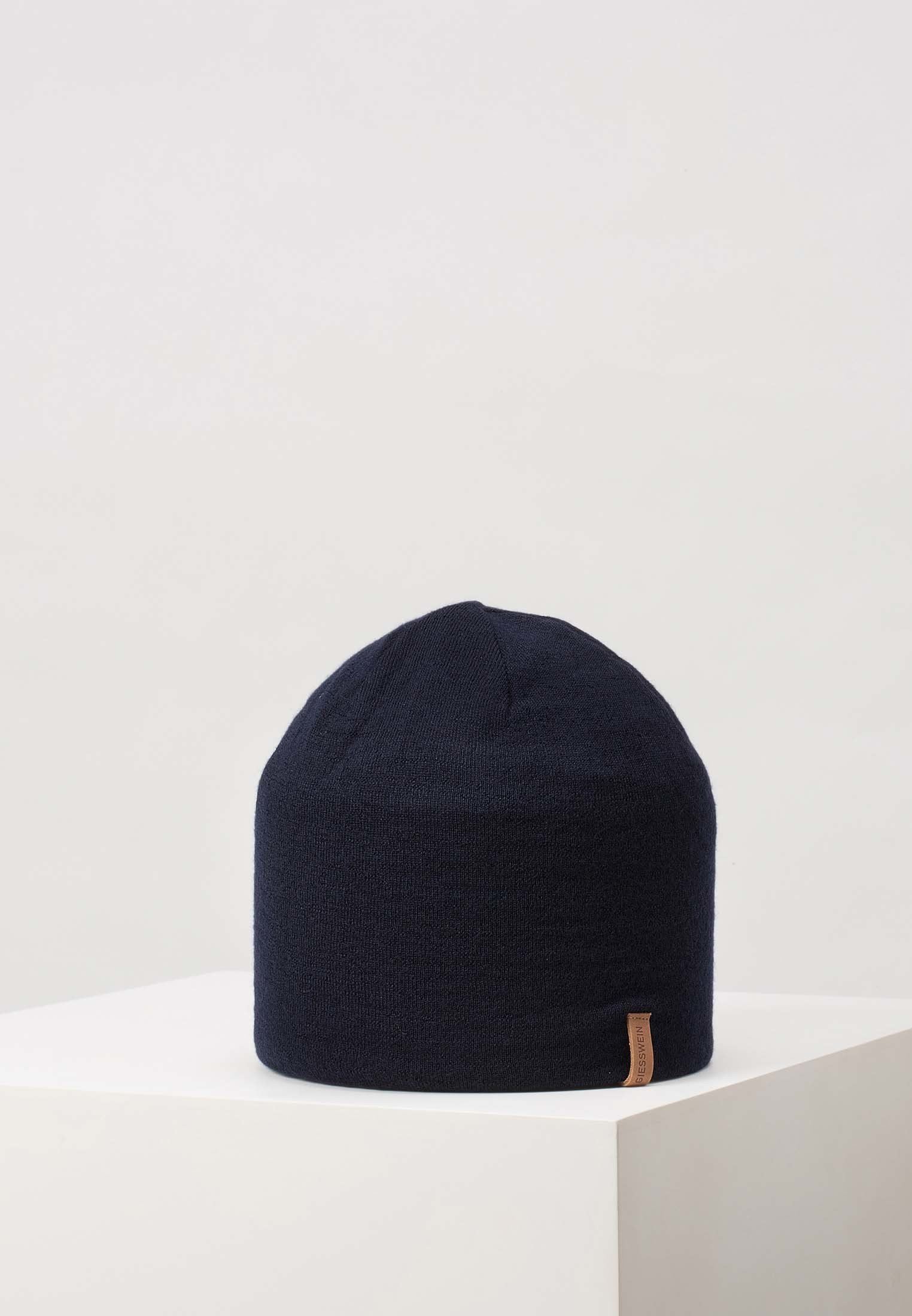 Giesswein Gehrenspitze - Mütze Dark Blue/dunkelblau