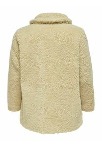 ONLY Carmakoma - Halflange jas - beige - 1