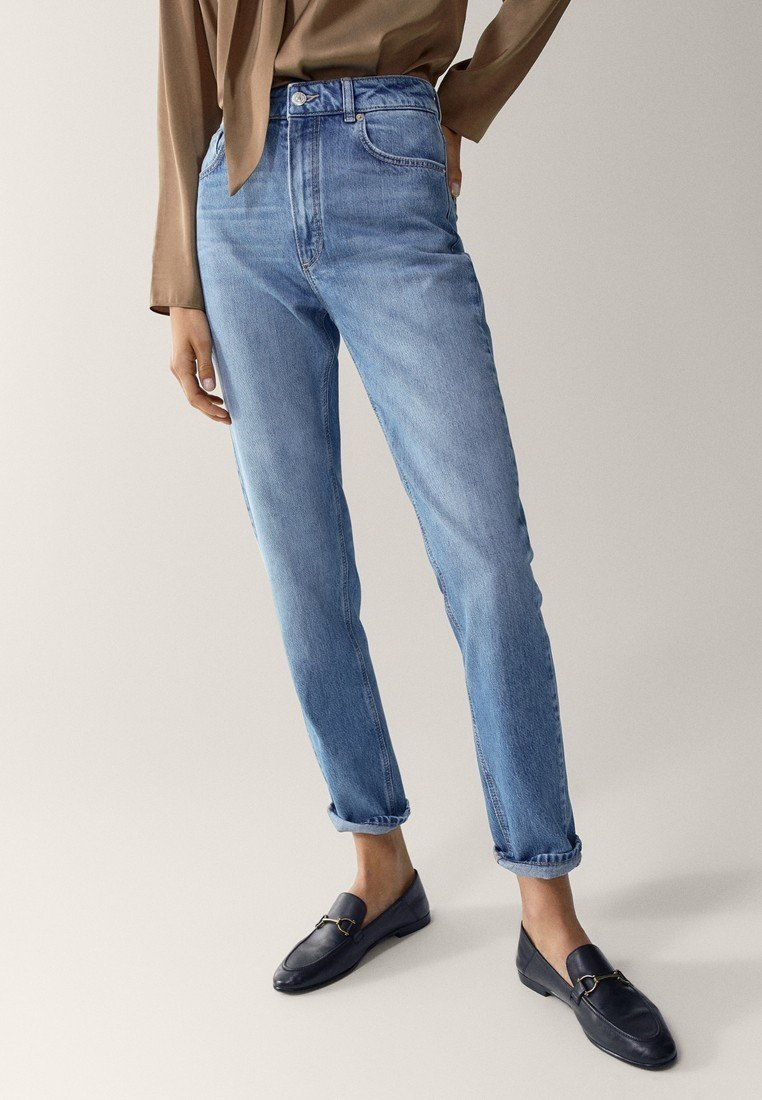 Massimo Dutti - Slim fit jeans - blue