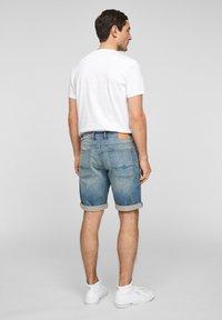 QS by s.Oliver - Denim shorts - blue - 2