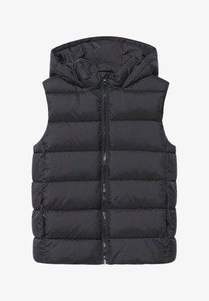 AMERVA - Waistcoat - black