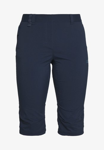 ACTIVATE LIGHT 3/4 PANTS - 3/4 sports trousers - midnight blue