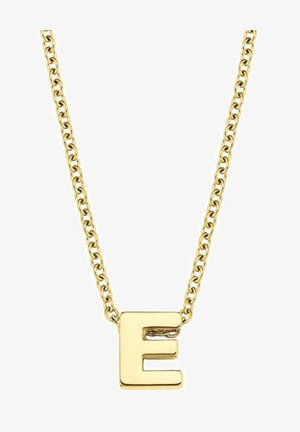 LETTER E - Necklace - silber