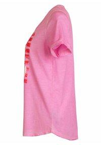 Lieblingsstück - CARISSIMAL - Print T-shirt - rose - 1