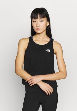 SIMPLE DOME TANK - Linne - black