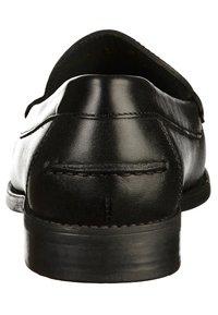 Geox - Elegantní nazouvací boty - black - 3