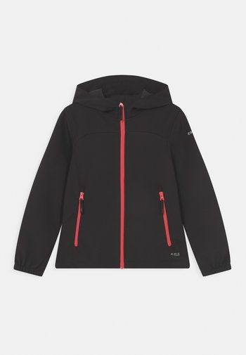 KOBRYN UNISEX - Soft shell jacket - black