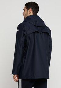 Helly Hansen - MOSS RAIN COAT - Waterproof jacket - navy - 2