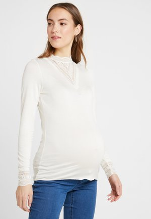 Camiseta de manga larga - whisper white