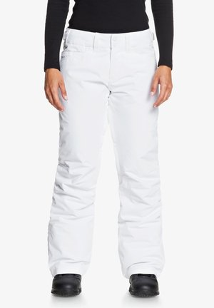 BACKYARD - Pantalon de ski - bright white