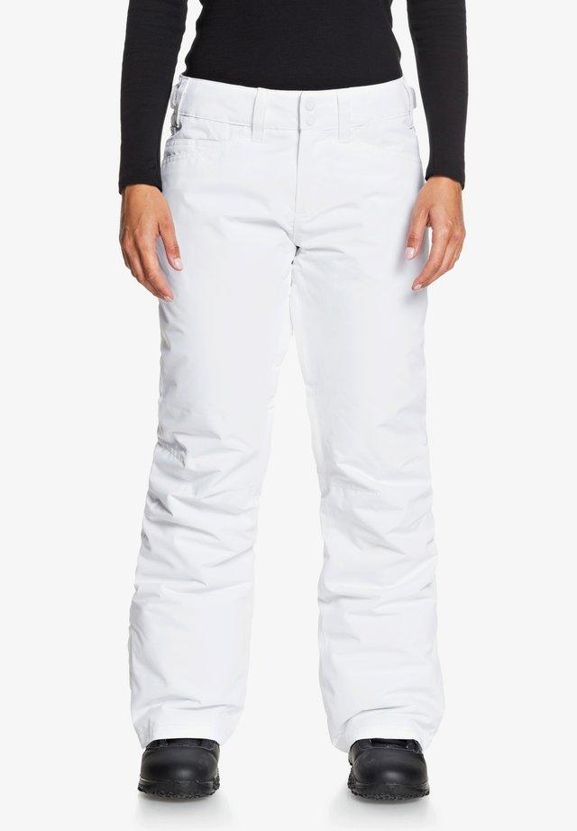 BACKYARD - Pantalon de ski - bright white