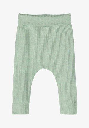 Trousers - iceberg green