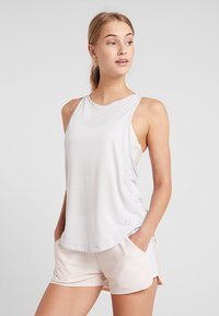 Under Armour - WHISPERLIGHT TANK - Treningsskjorter - halo gray/metallic silver - 0